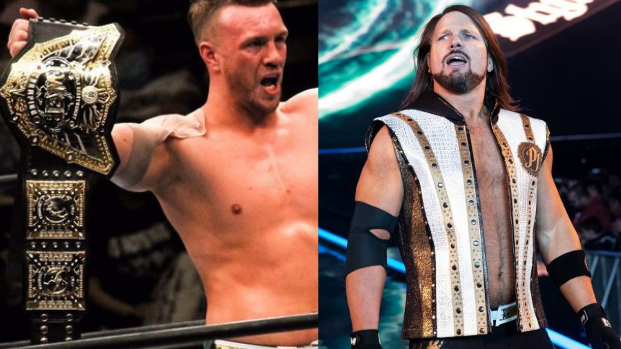 AJ Styles reacts to Will Ospreay's IWGP World Heavyweight Championship win