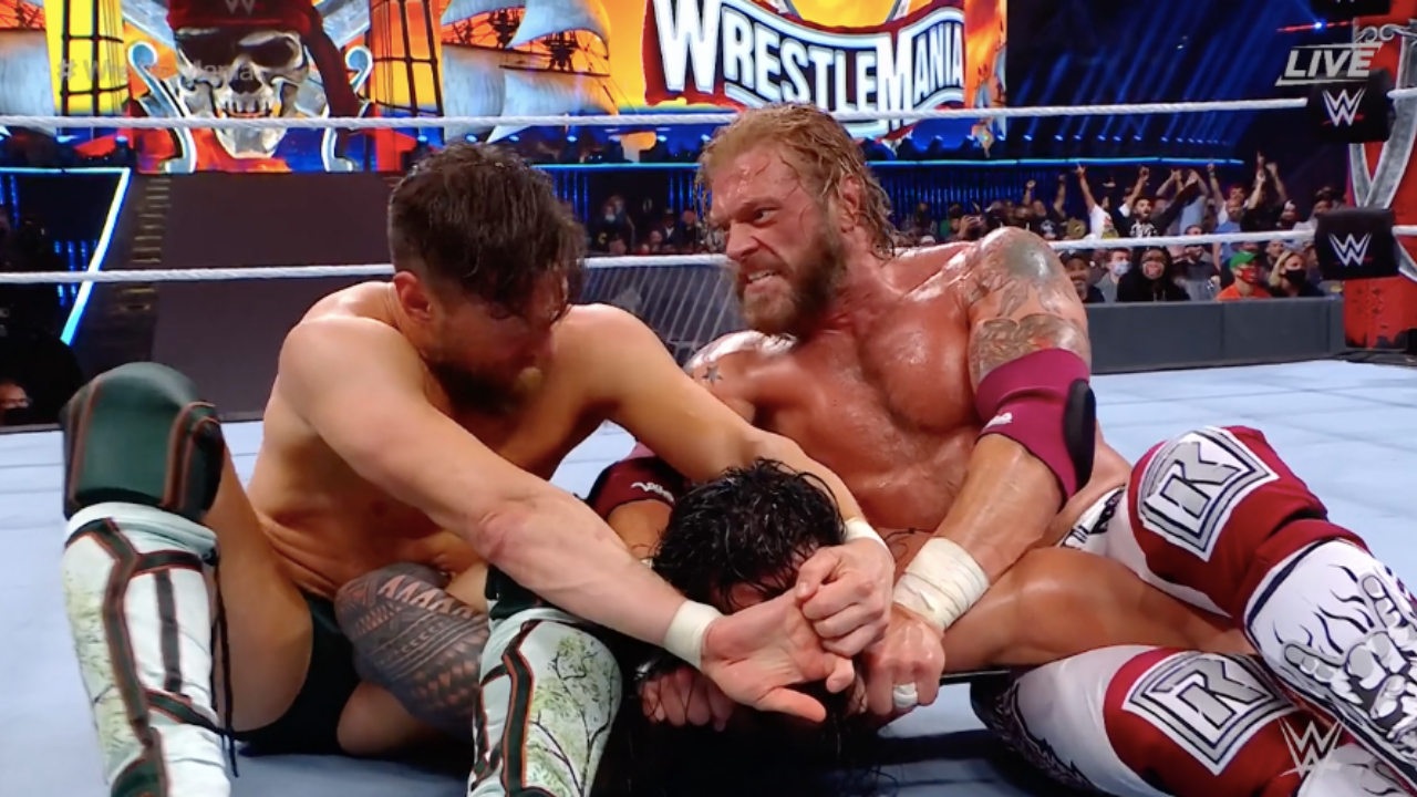 WWE producer discloses what made Wrestlemania 37 Night 2 Main event so unique