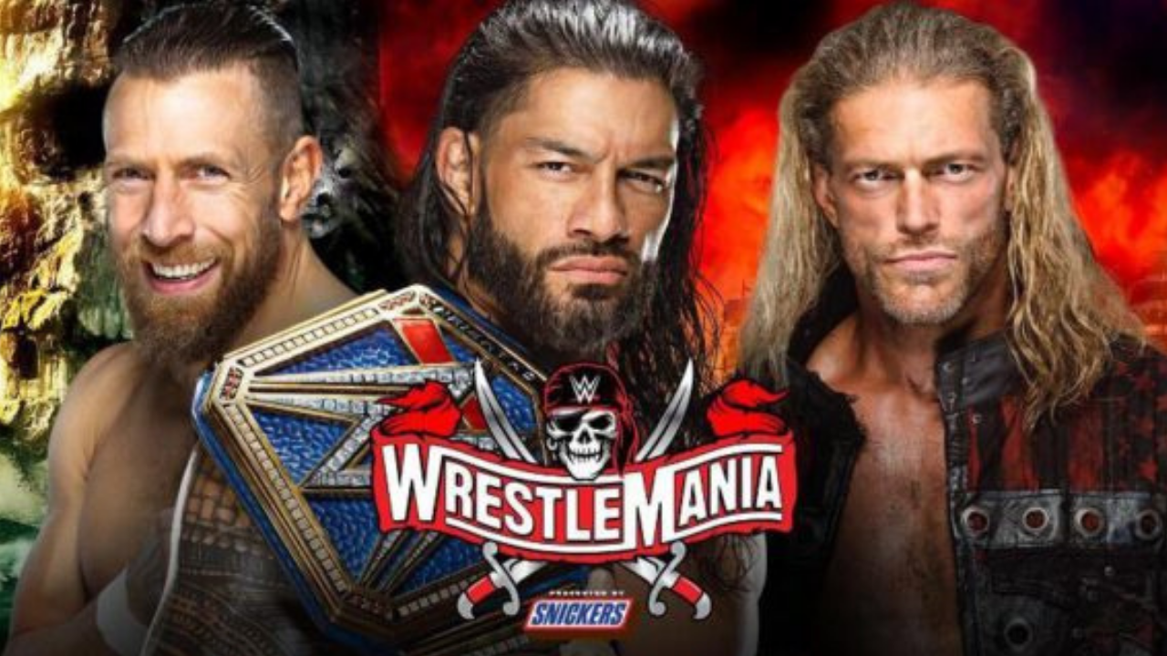 Edge reveals his reaction to being told he would main event Wrestlemania 37