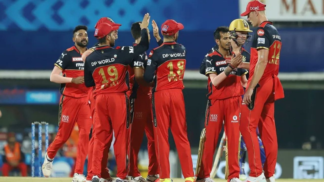 RCB Man of the Match today: Who was awarded the Man of the Match in IPL 2021 MI vs RCB Match 1?