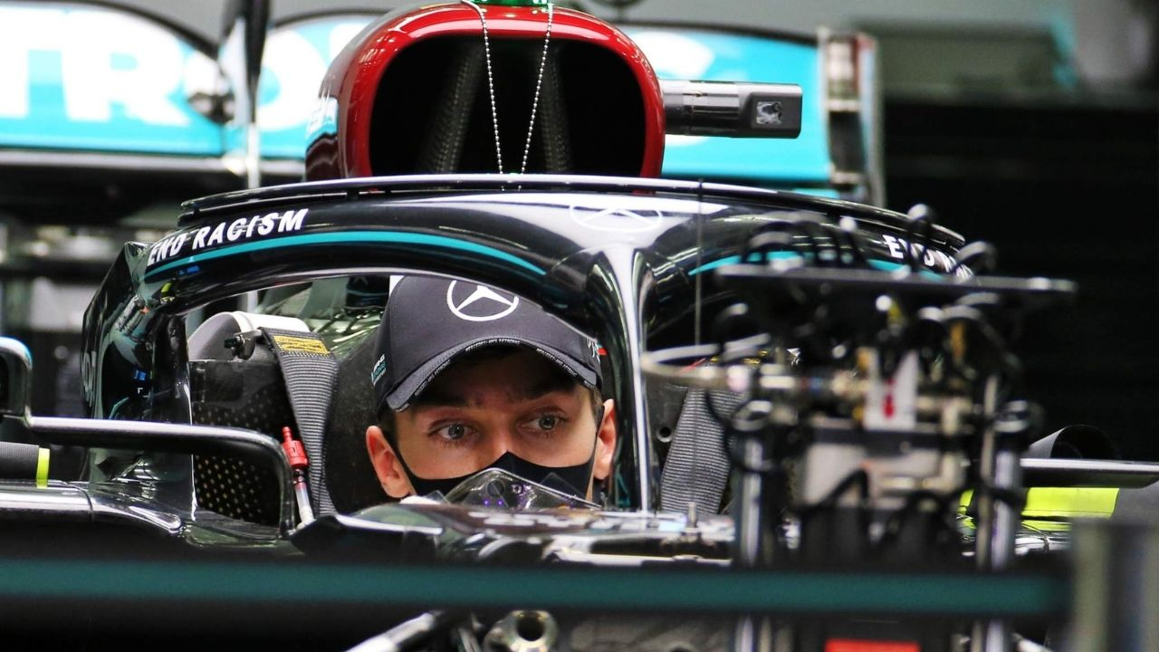 """""""Toughen up and get through it"""" - George Russell on the importance of mental health in F1"""