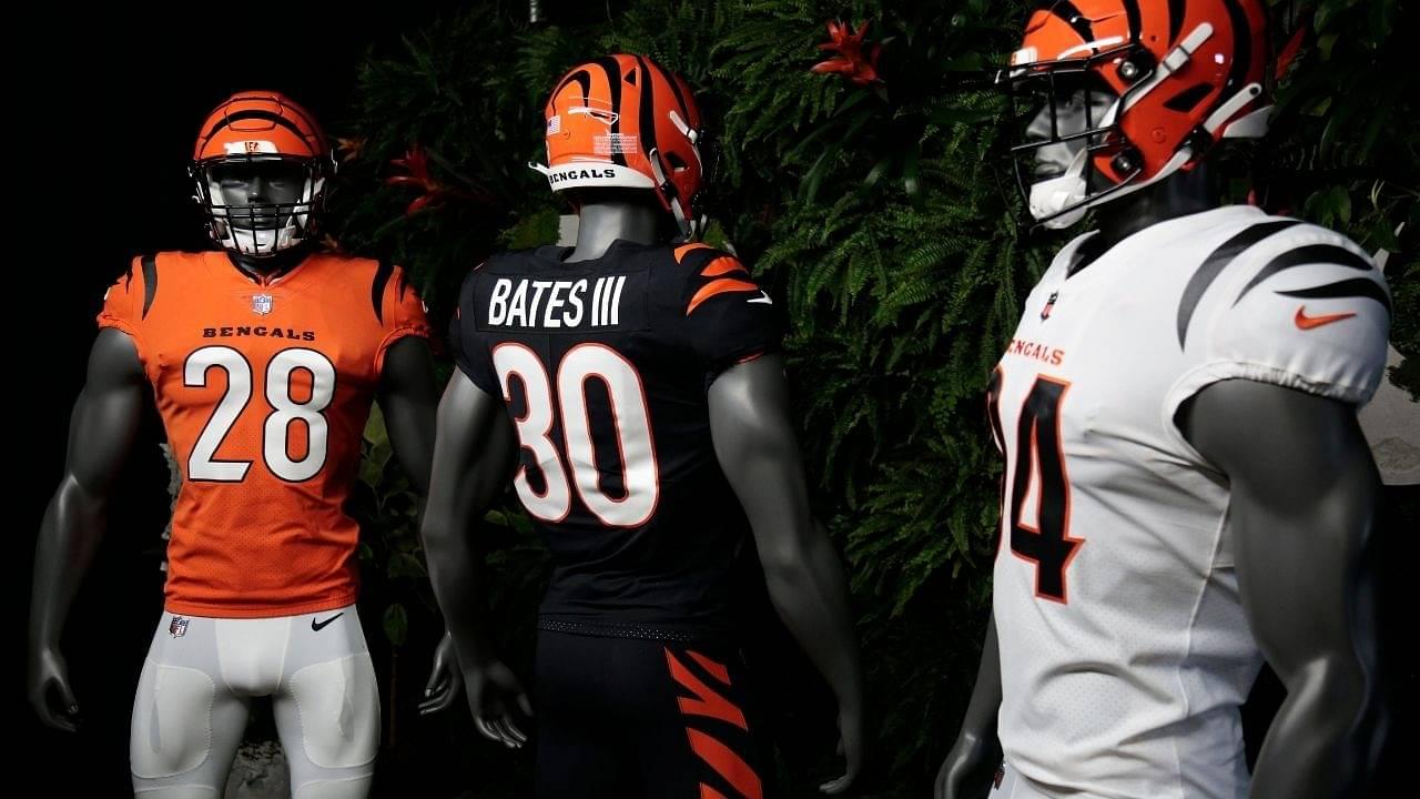 NFL New Uniforms 2021 : Cincinnati Bengals reveal new uniforms after 17 years