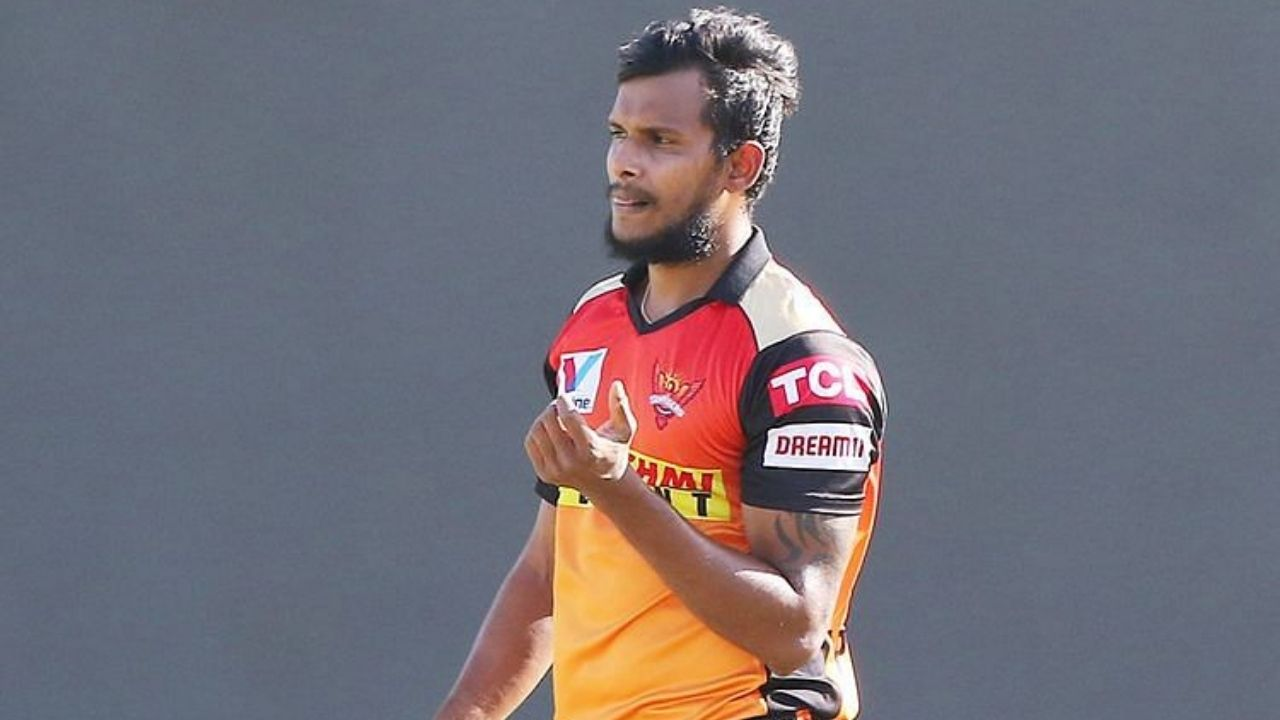 V Singh cricketer: Why is T Natarajan not playing today's IPL 2021 match vs Mumbai Indians?