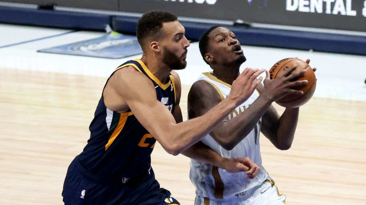 """Dorian Finney-Smith takes shots at Rudy Gobert's defense following Luka Doncic and Mavericks win over Jazz: """"I knew I was going to get shots because he was guarding me"""""""