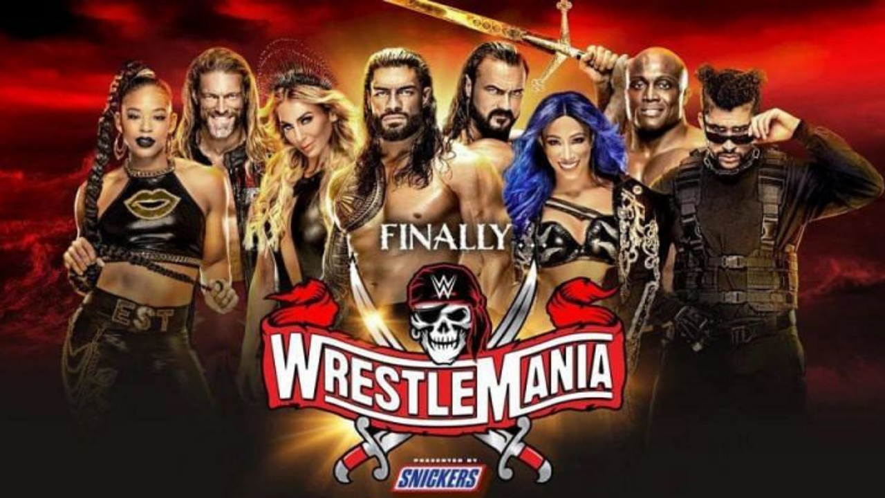 WWE confirms opening match and Main Event of Wrestlemania 37 Night One