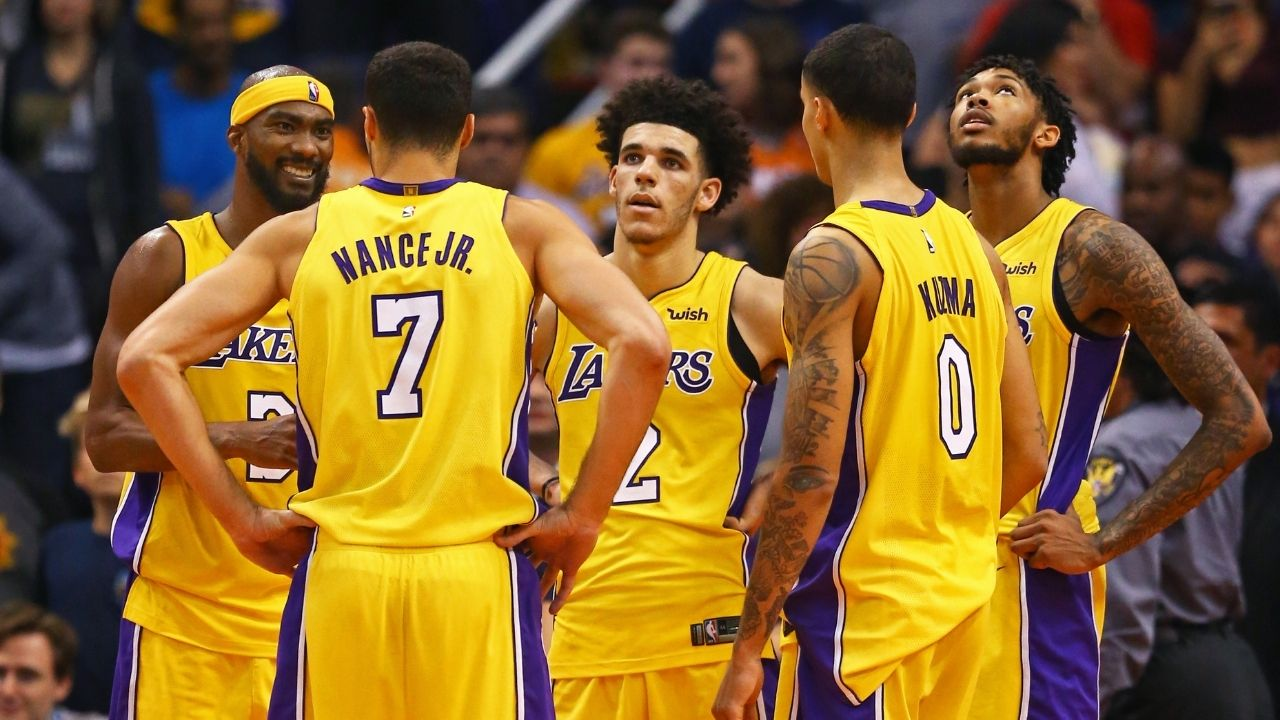 """""""They really put Kyle Kuzma over Brandon Ingram"""": NBA Fans react to a poll from 2017 predicting Kuzma would be the most successful out of the young Lakers' core"""