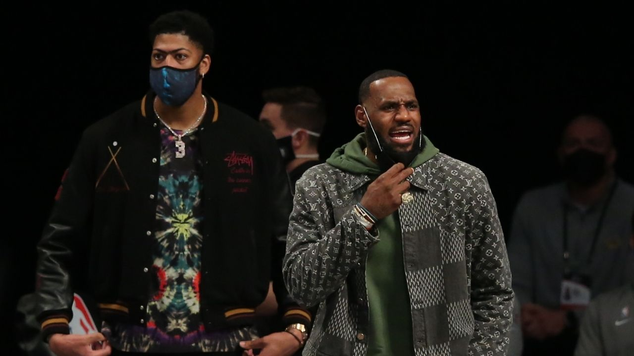 """Anthony Davis throws down gauntlet to Lakers' title rivals: """"We can win the championship no matter what seed we fall to"""""""