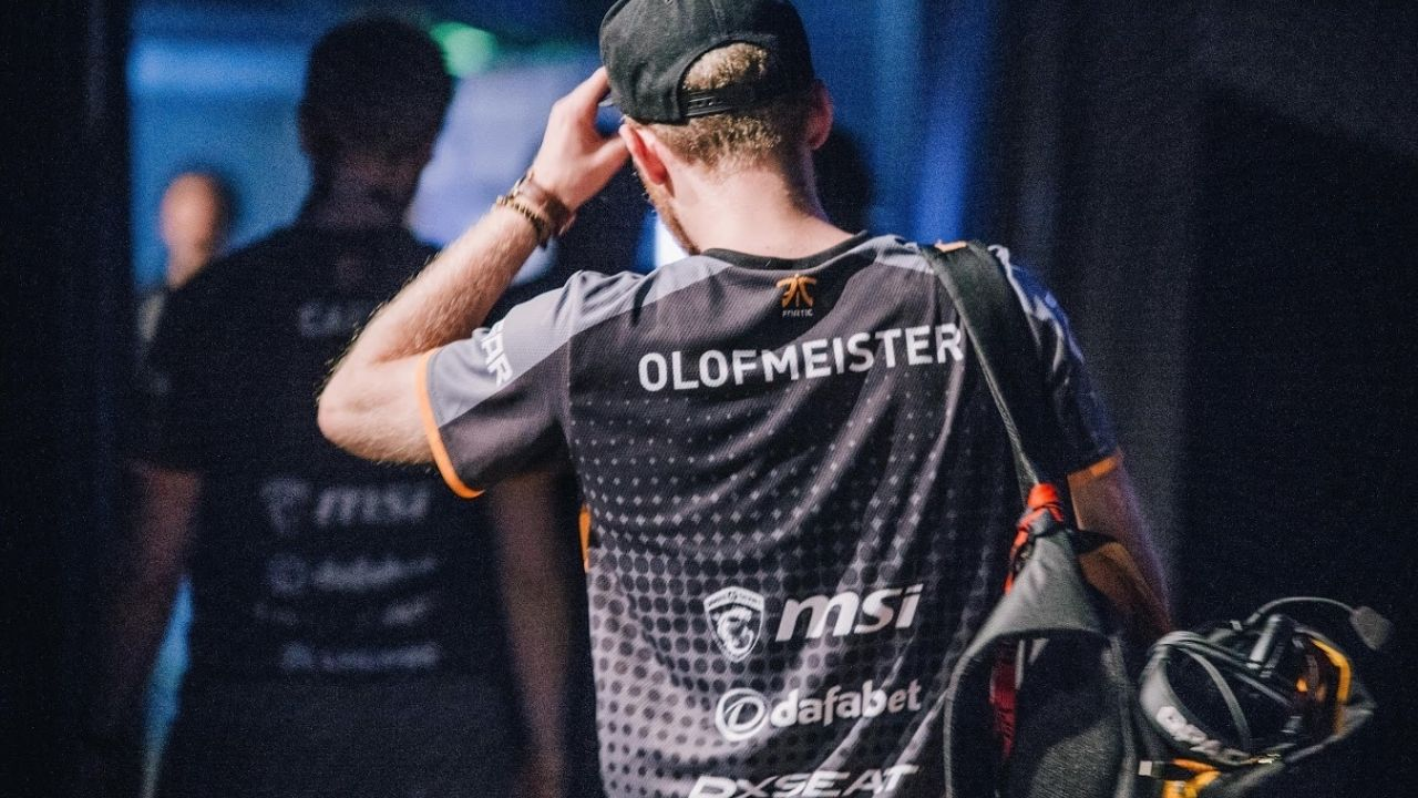 """Olofmeister is a natural talent in shooting games."": Olof reportedly set to join Fnatic's Valorant roster"