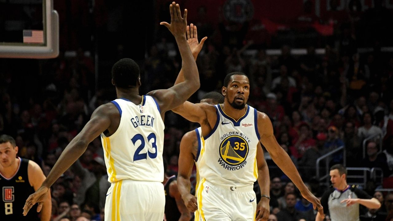 """""""Draymond Green did not call Kevin Durant from the parking lot after Game 7"""": The Warriors' DPOY reveals how he recruited KD from the OKC Thunder in 2016"""