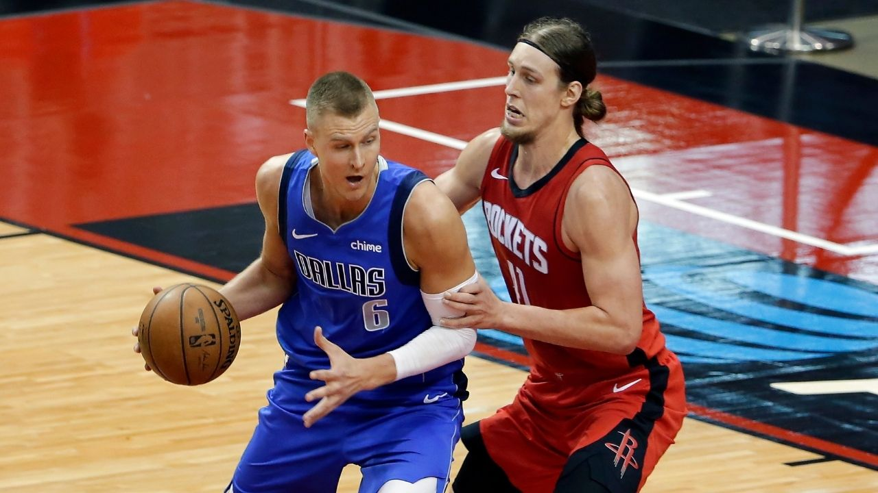 """Kristaps Porzingis appears dissatisfied at not being in Rick Carlisle's 4th quarter schemes: """"It's happened before, I wasn't involved because of the plays we were running"""""""