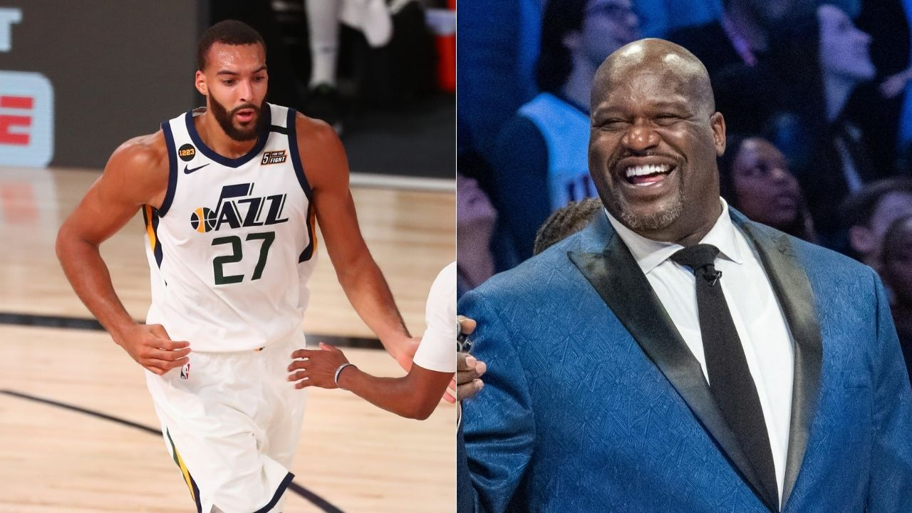 """Follow Rudy Gobert, y'all can't be like LeBron James, Kobe or KG"": Lakers legend Shaquille O'Neal preaches all NBA big men to take inspiration and follow Utah's All-Star"