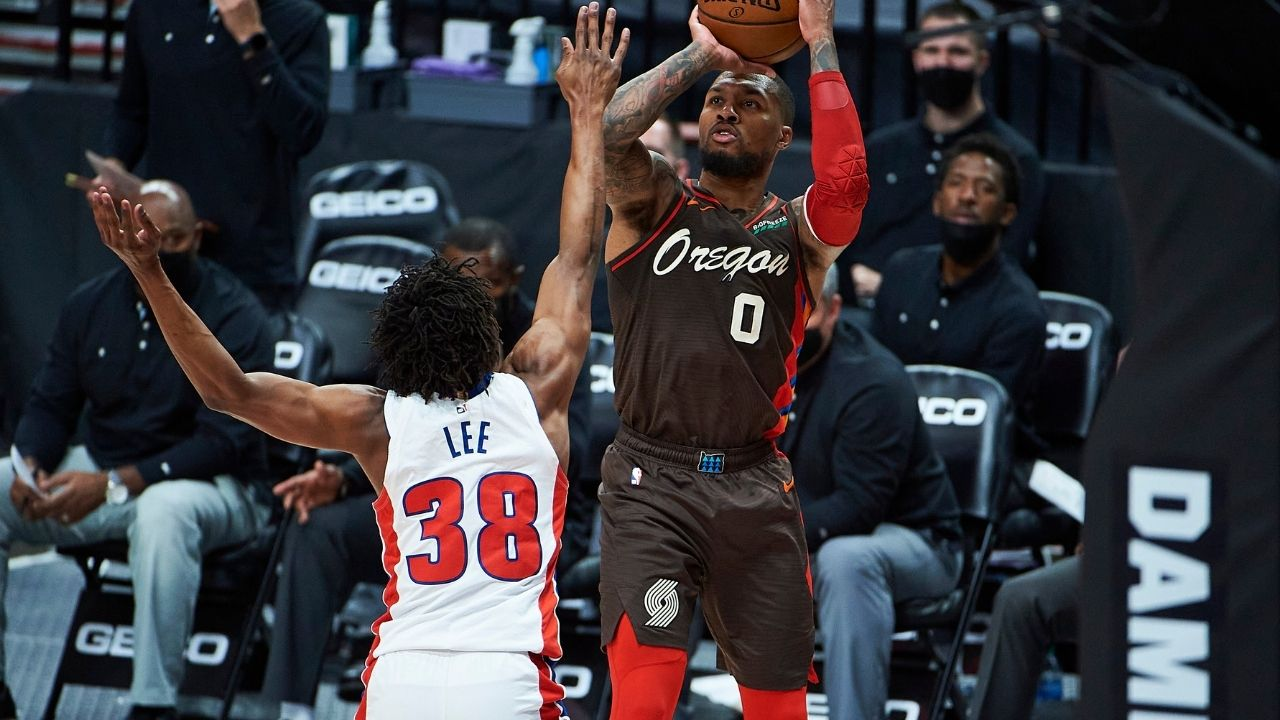 """Damian Lillard reminisces about his clutch moments at Weber State and the night 'Dame-Time' was born: """"That shot feels like a turning point for me"""""""