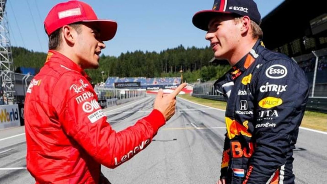 """""""Maybe you spin yourself"""" - Should Charles Leclerc have overtaken Max Verstappen in Imola restart?"""