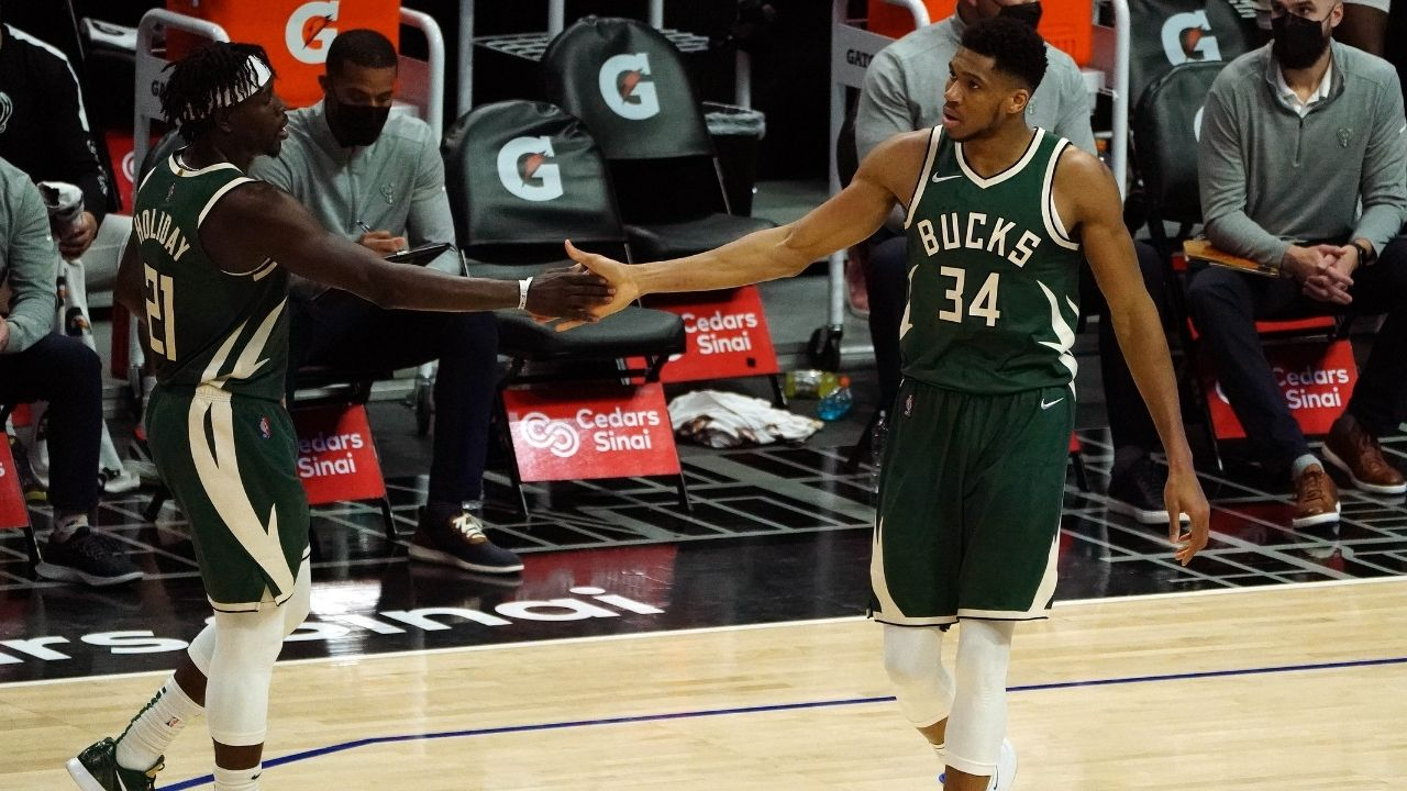 """Coming from Charles Barkley that's a great compliment"": Giannis Antetokounmpo thanks the NBA legend for picking them over Kevin Durant and co"