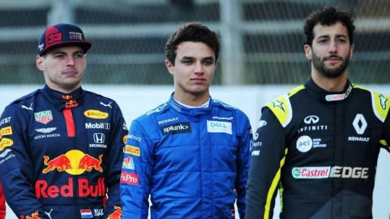 """""""I have to say Max""""– Daniel Ricciardo picks Max Verstappen over Lando Norris"""