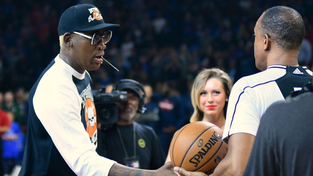 """""""Dennis Rodman, any more tattoos and you're out of the NBA"""": When the Bulls legend got a new tattoo out of spite from a David Stern dictate"""
