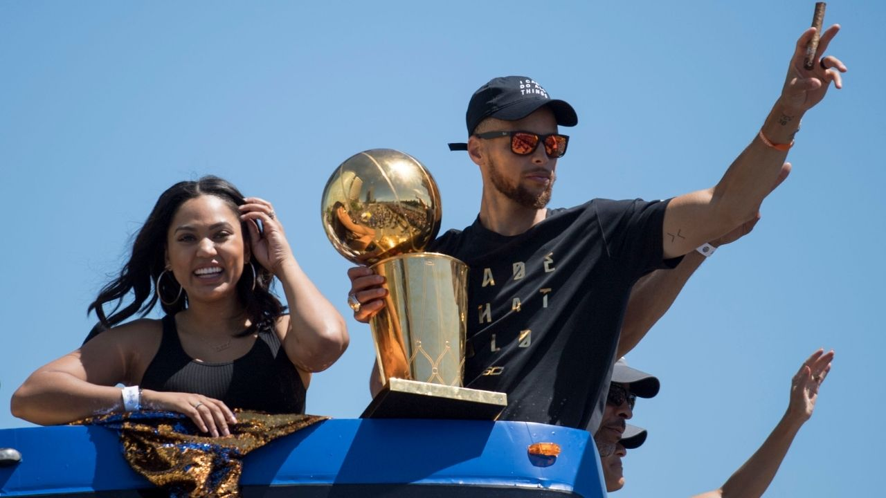 """Ayesha Curry supports Steph Curry and his 2021 MVP case as Twitter data shows America picks Warriors superstar to win the award: """"Love this!"""""""