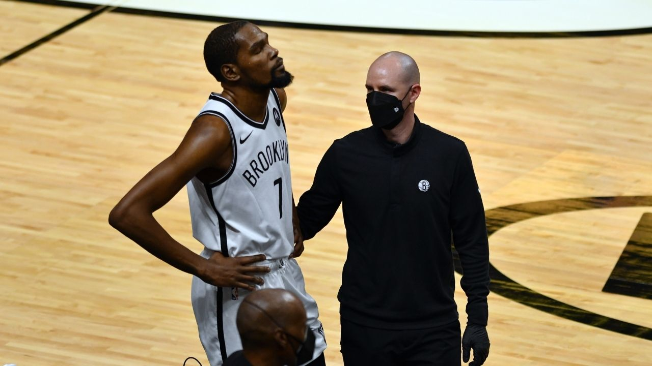 """""""Kevin Durant snubs Russell Westbrook"""": Nets star shockingly picks Klay Thompson and Serge Ibaka ahead of Russ as his top 5 teammates"""