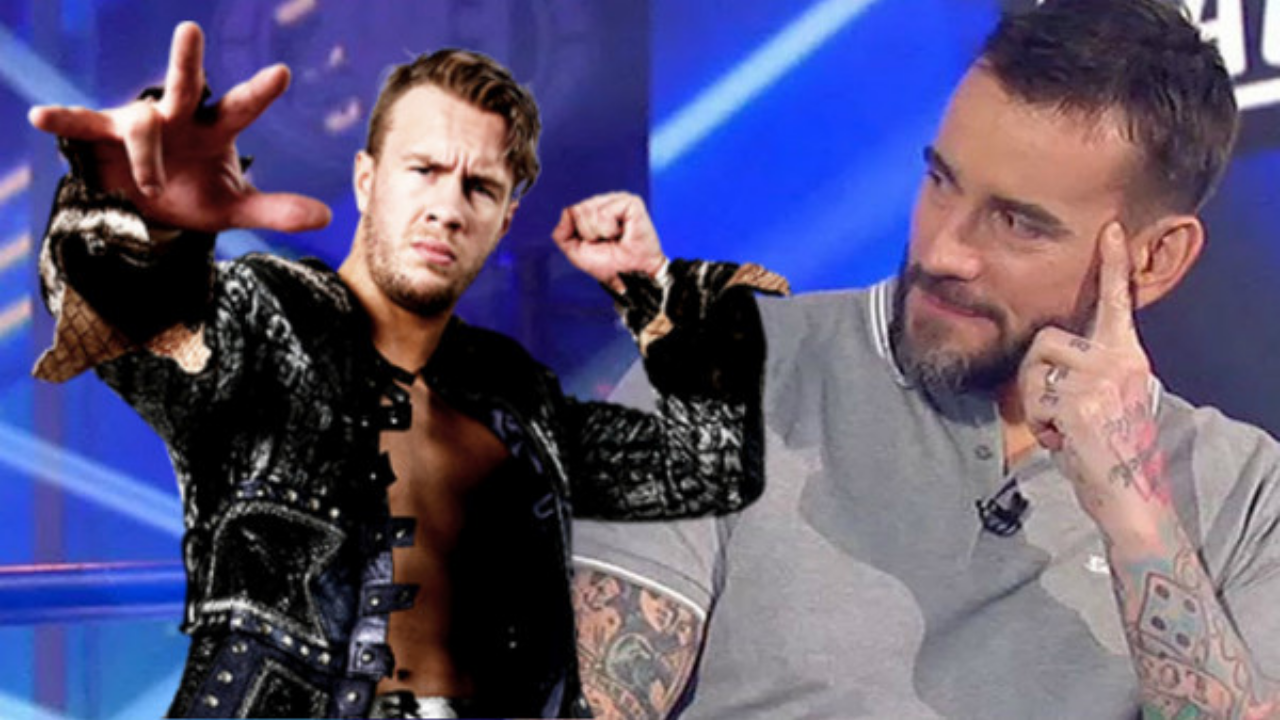 Will Ospreay challenges CM Punk to an IWGP World Heavyweight Championhip match