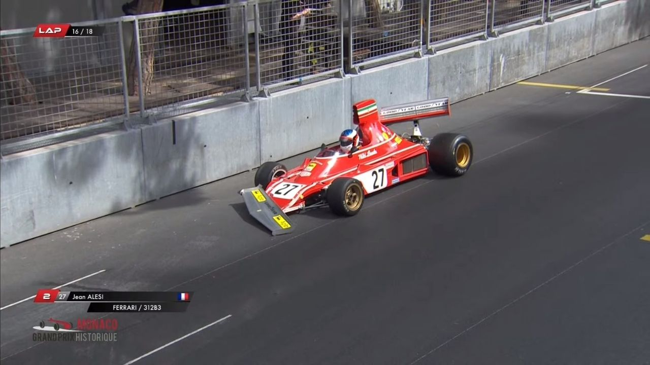 """I am disappointed""– Jean Alesi on crashing Niki Lauda's Ferrari"