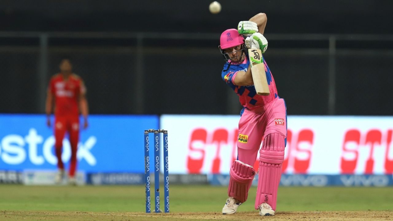 R Meredith cricketer: Jos Buttler welcomes Riley Meredith by hitting four fours in RR vs PBKS IPL 2021 match
