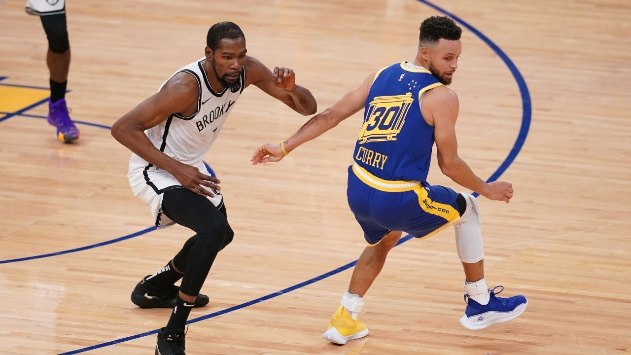 """""""Stephen Curry needed another MVP and 3 All-Stars to win a ring"""": Kevin Durant forgets to switch to his burner, ends up liking a tweet mocking Steph Curry"""