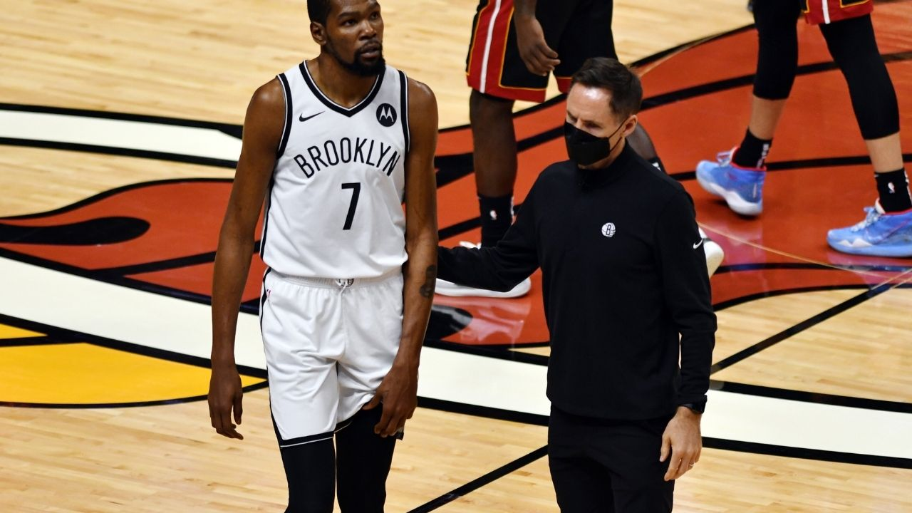 """""""We're a great measuring stick for the Phoenix Suns as well"""": Kevin Durant sassily replies to a reporter after Nets beat Chris Paul and co"""