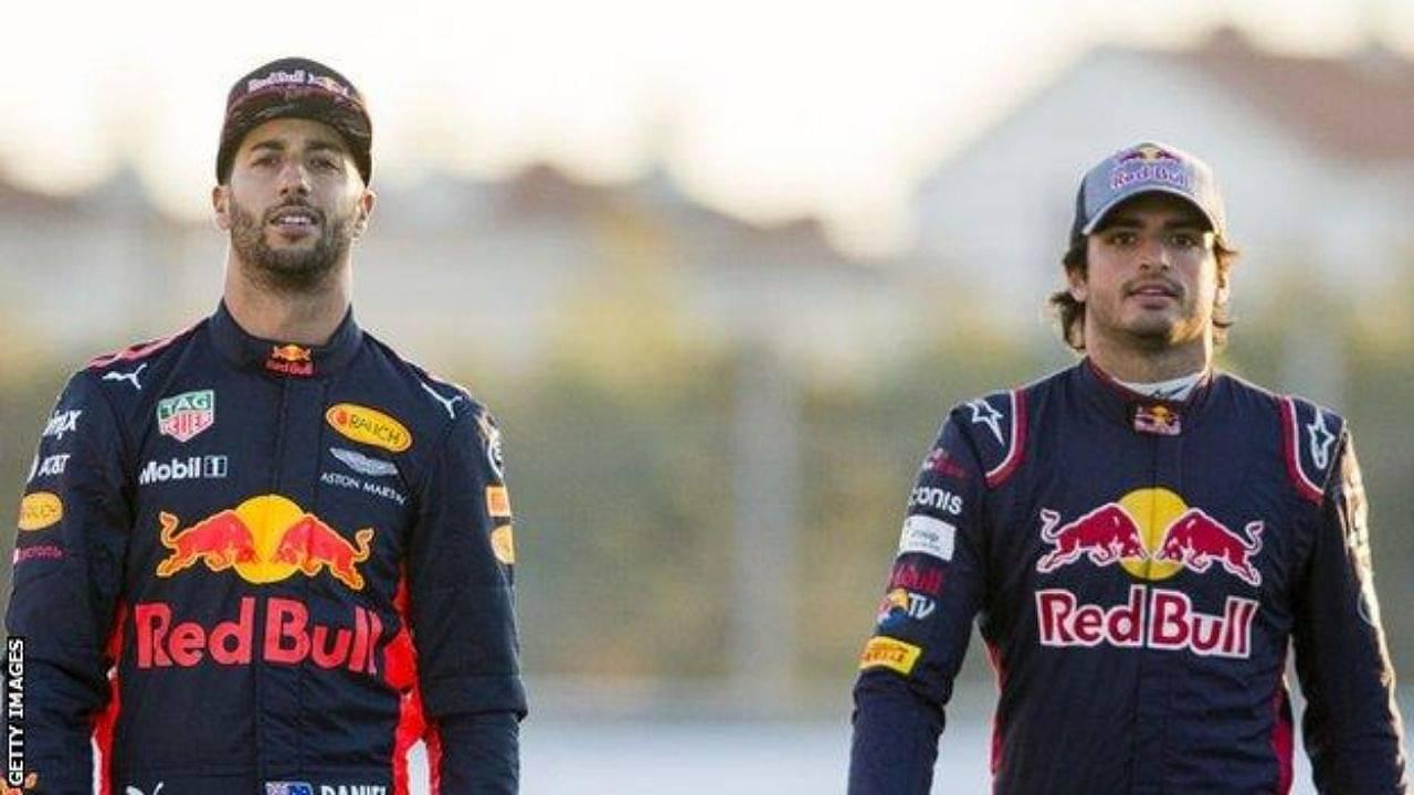 """Style and class you just can't buy""- Carlos Sainz on Daniel Ricciardo's dressing sense"