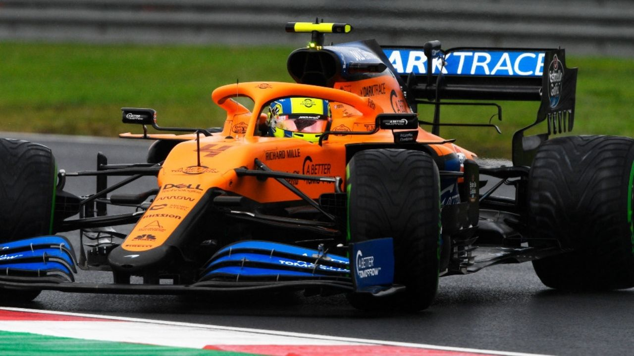 """""""They're helping us to move forwards""""- Lando Norris on partnership with Mercedes"""