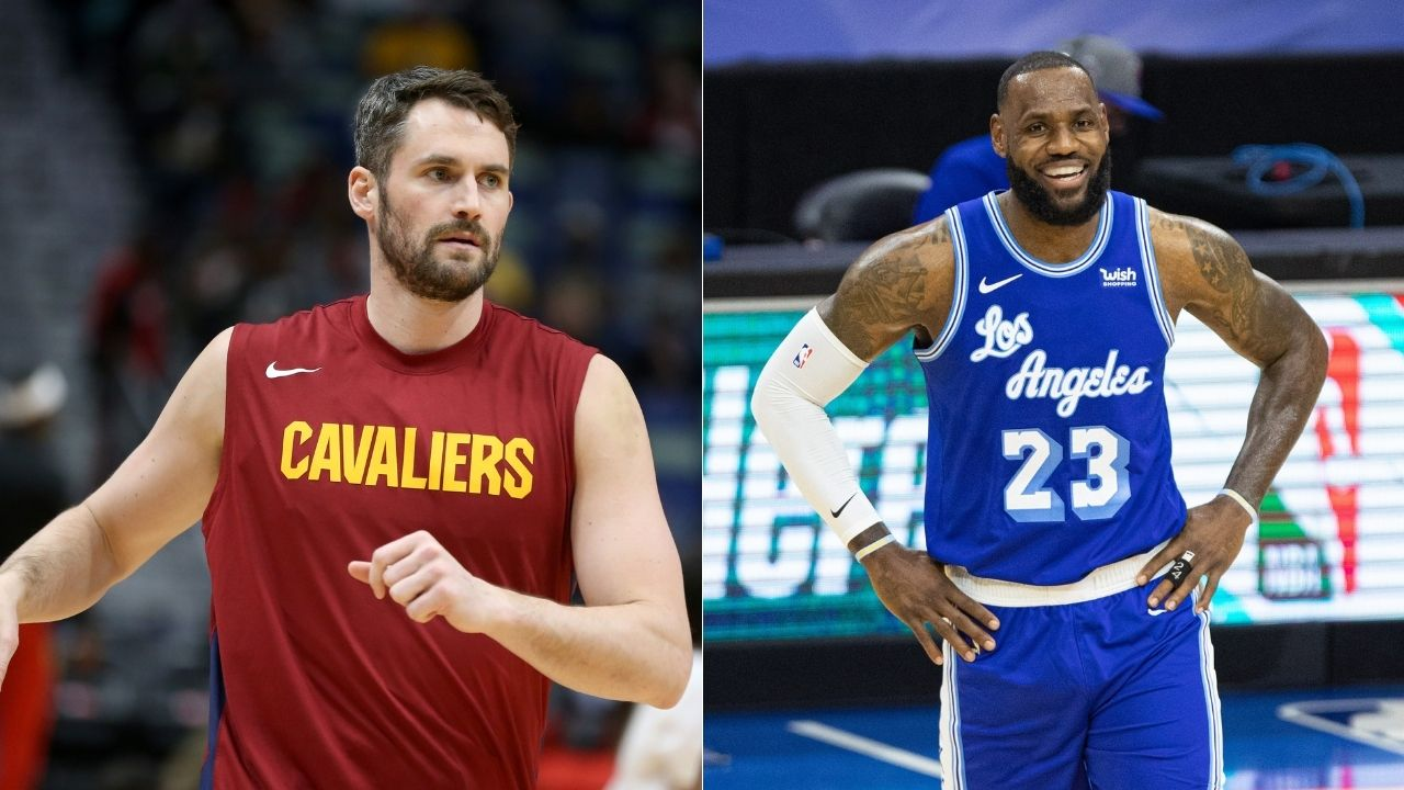 """""""LeBron James' block in the 2016 Finals is the greatest and the most clutch block of all time"""": Cleveland star Kevin Love reveals the greatest defensive play of all time"""