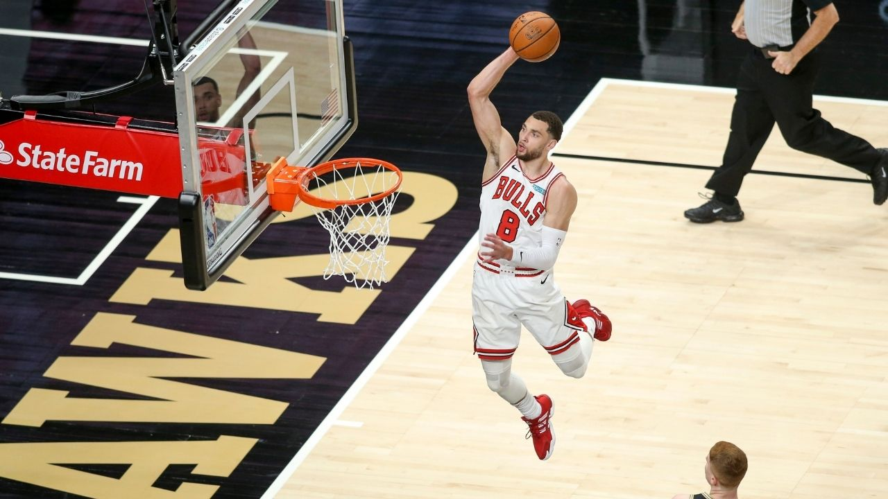 """""""It was LaVine vs the Hawks in the second quarter"""": Zach LaVine joins Michael Jordan, Jimmy Butler in a piece of Bulls history with his 50-point game against Atlanta"""