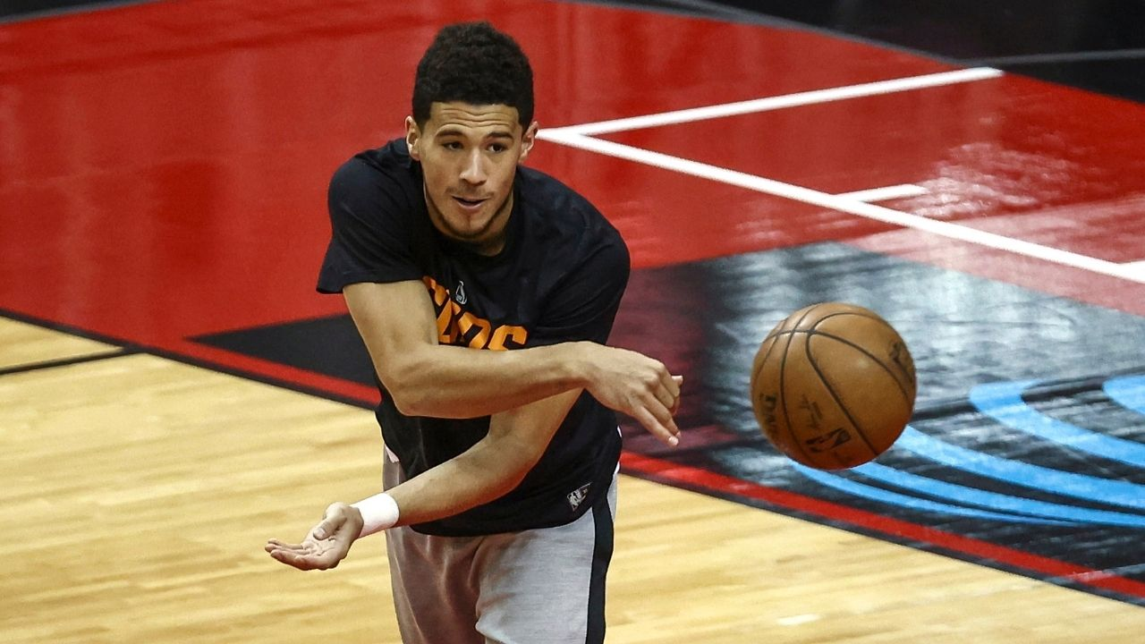 """""""My only mindset is to get that number 1 seed in the West"""": Suns All-Star Devin Booker reacts to not being in the MVP discussions"""