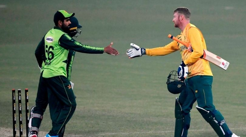 SA vs PAK Fantasy Prediction: South Africa vs Pakistan 2nd T20I – 12 April (Johannesburg). Babar Azam, Mohammad Rizwan, and Mohammad Hafeez are the best fantasy picks for this game.