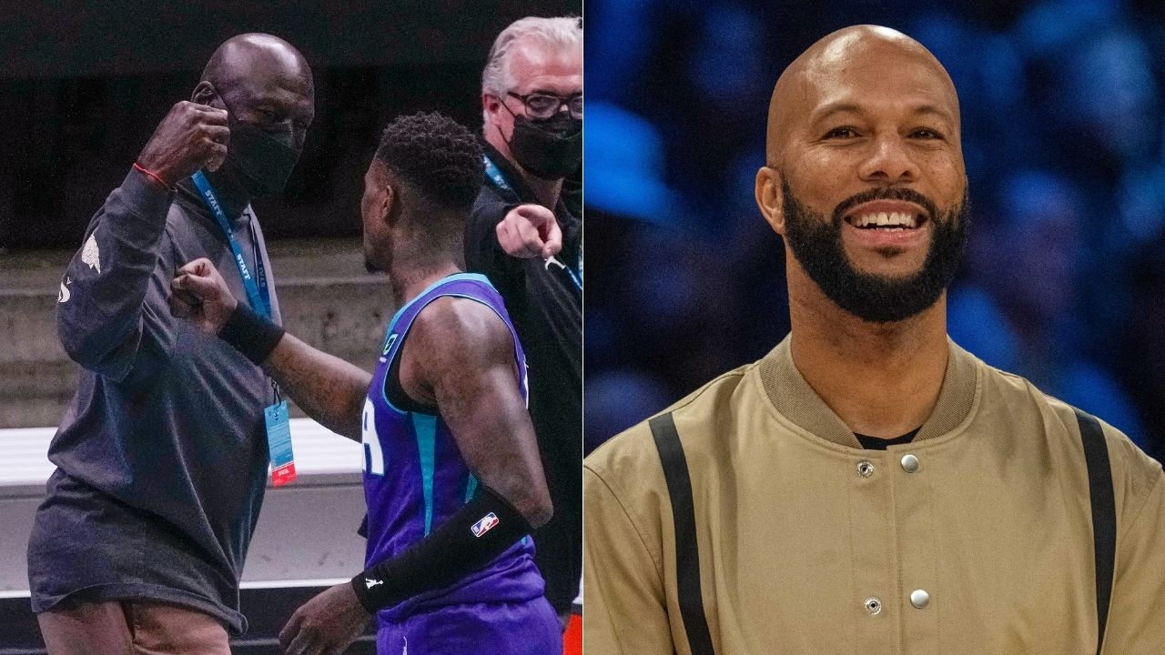 """Look, Michael Jordan, can you sign this for this kid?"": Common reenacts a story from when he was a ball boy for the Chicago Bulls"