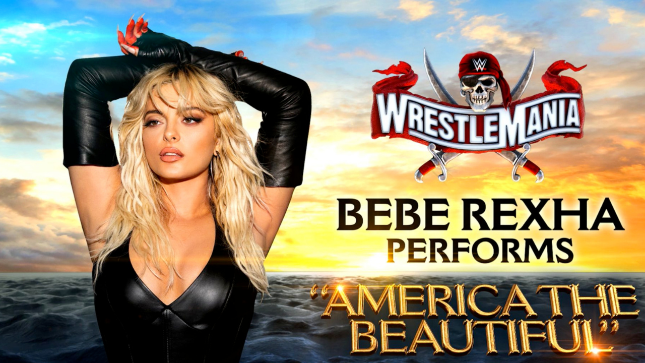 "Bebe Rexha will perform ""America The Beautiful"" at WrestleMania 37"