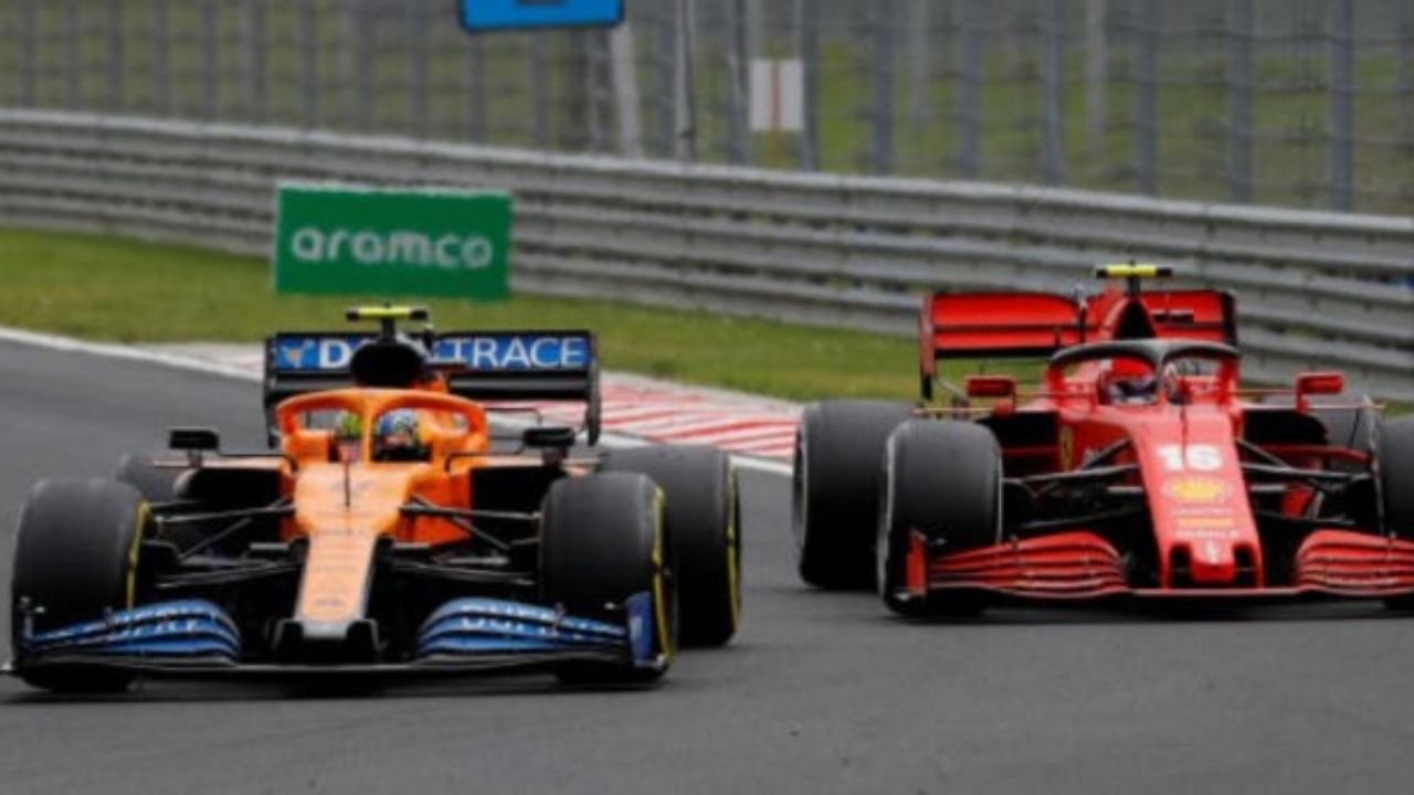 """""""So if we do better on Saturday, then I'll be happy""""– Lando Norris declares Ferrari better than McLaren in qualifying"""
