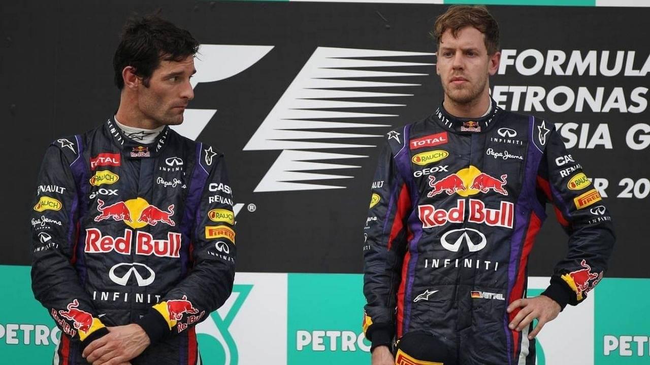 """People think I enjoy watching him suffer""– Mark Webber on Sebastian Vettel"