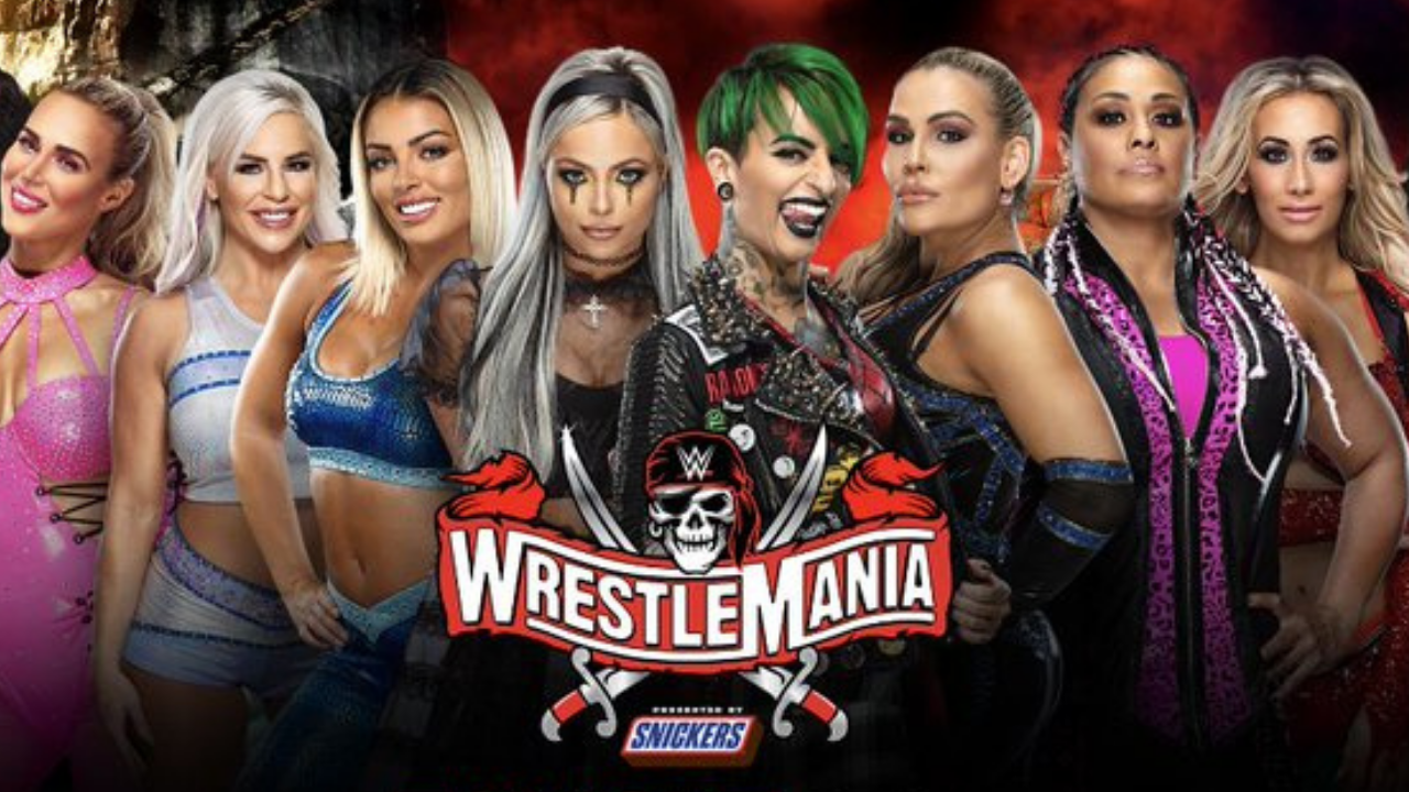 WWE Women's Tag Team Championship Match set for Wrestlemania 37 Night Two