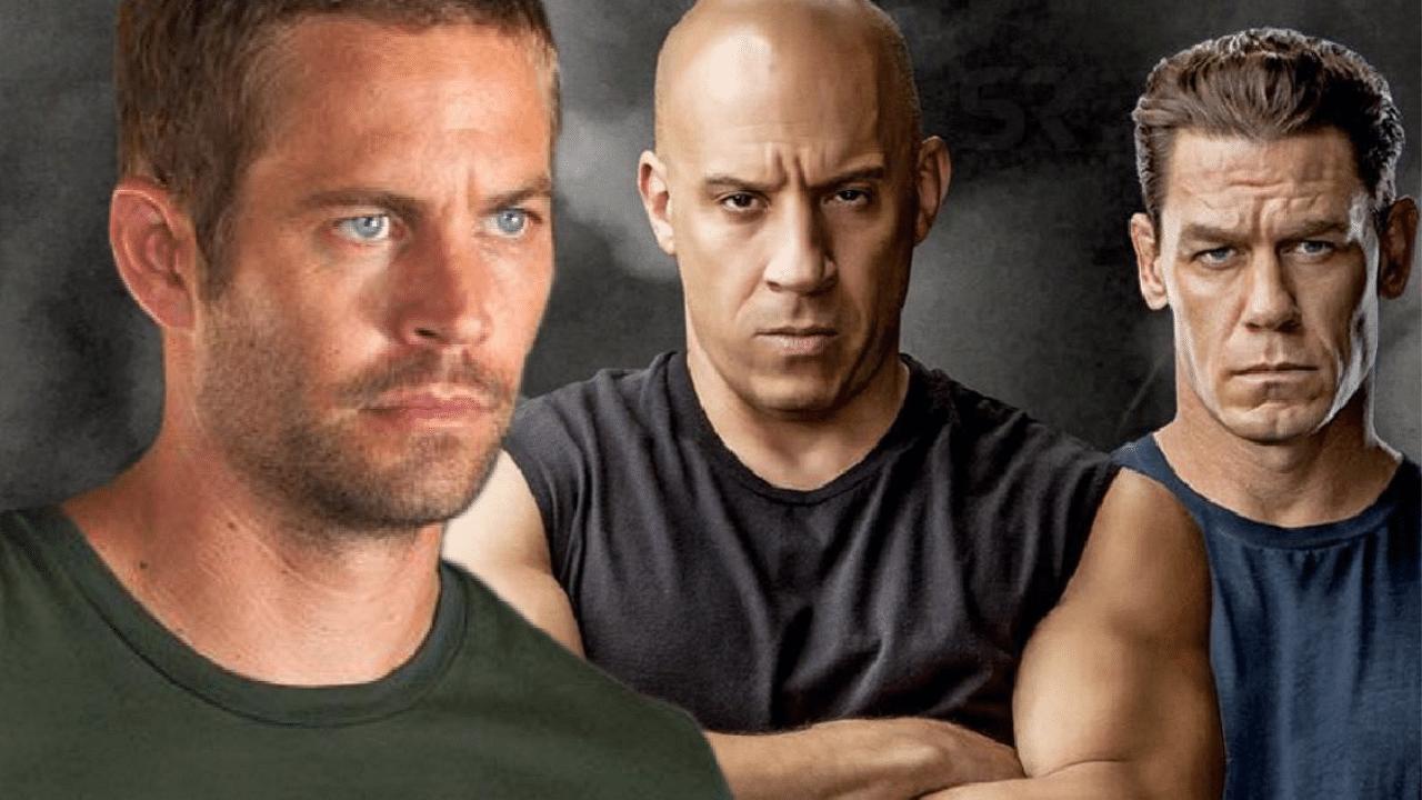 Vin Diesel says he believes Paul Walker sent John Cena to be a part of F9