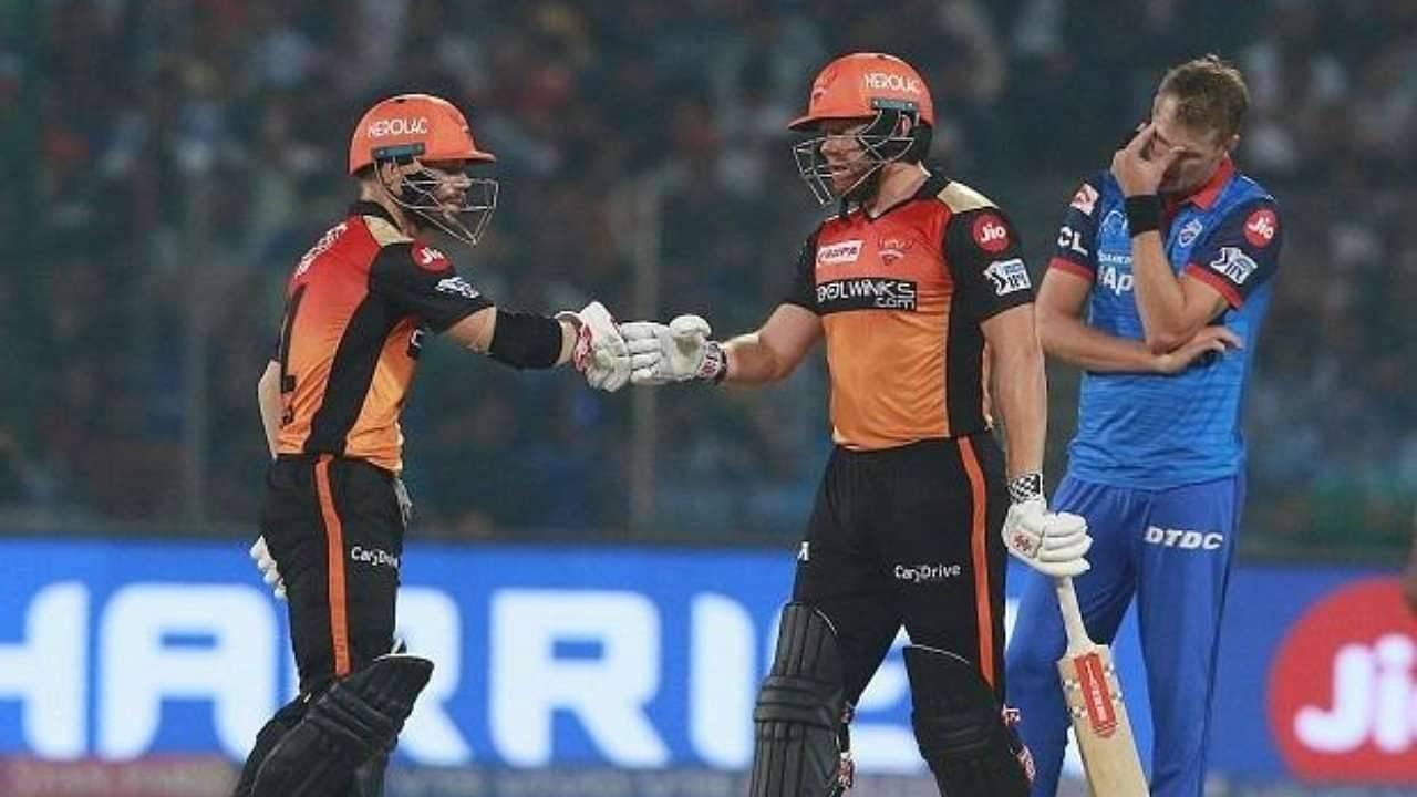 SRH vs DC Head to Head Records | Sunrisers Hyderabad vs Delhi Capitals H2H Stats | IPL 2021 Match 20