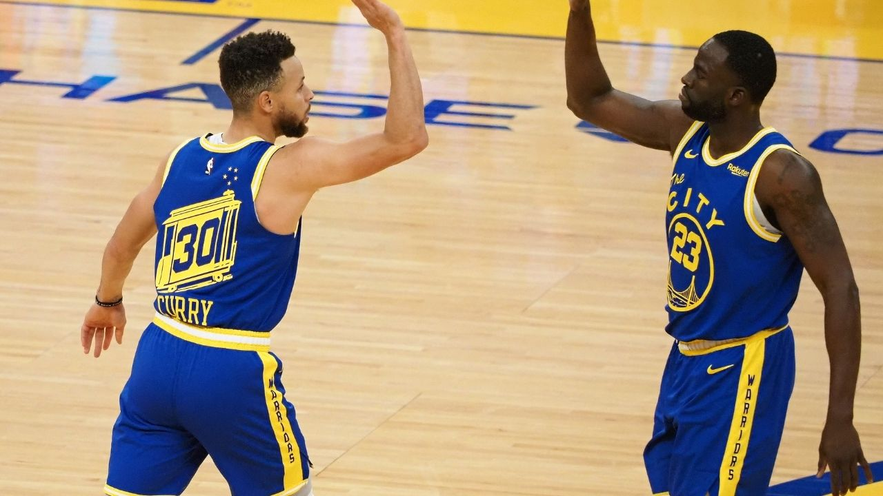 """My son loves rebounding for Steph Curry not me"": Draymond Green hilariously calls his son a 'smart kid' for wanting to rebound for Warriors MVP over him"