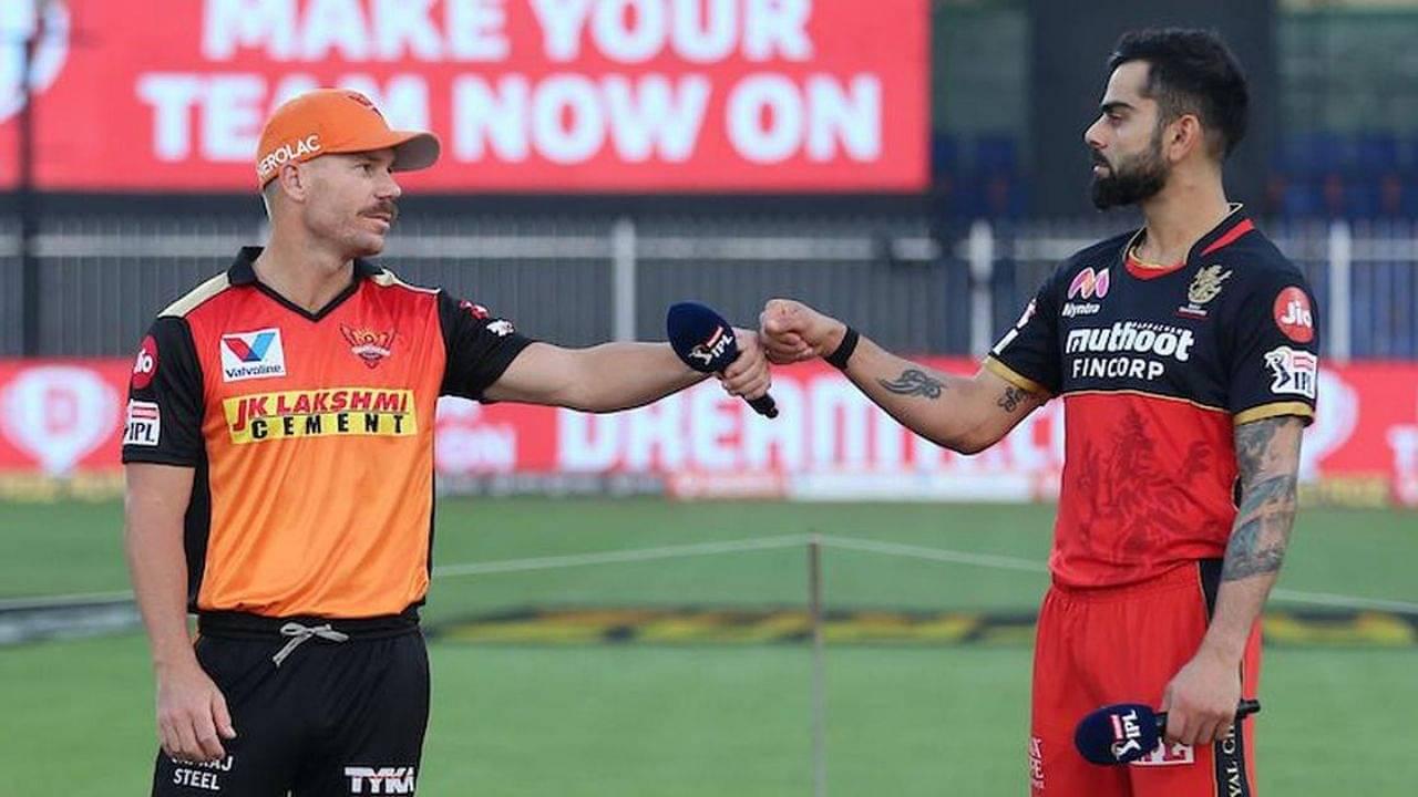 SRH vs RCB Head to Head Records | Sunrisers Hyderabad vs Royal Challengers Bangalore H2H Stats | IPL 2021 Match 6