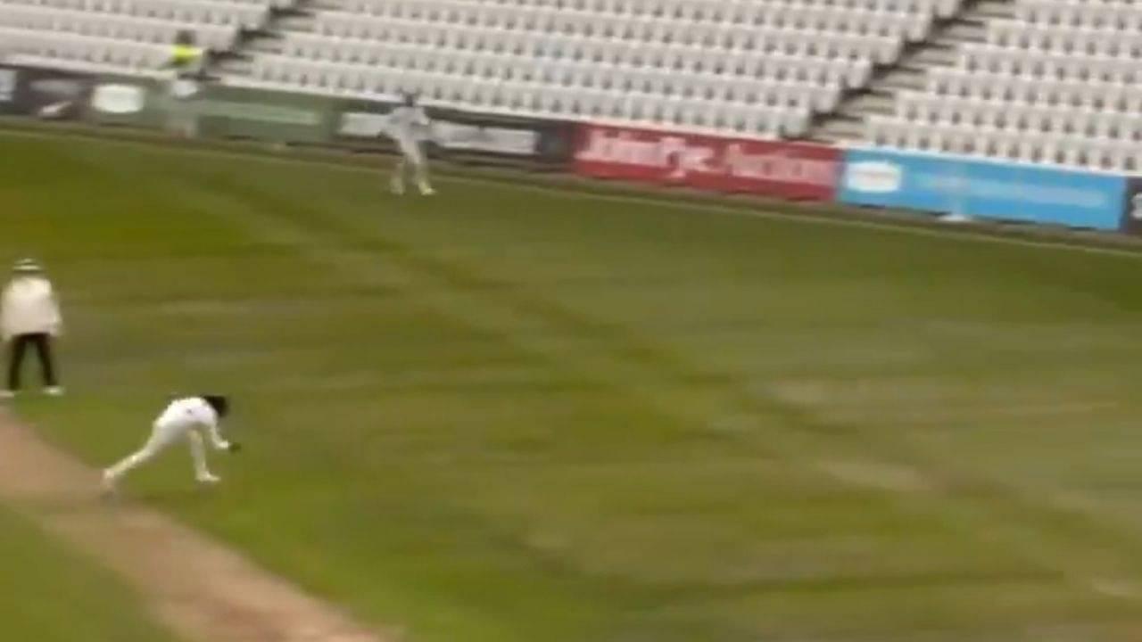 Hanuma Vihari catch vs Nottinghamshire: Indian batsman grabs splendid catch to dismiss Steven Mullaney on Warwickshire debut
