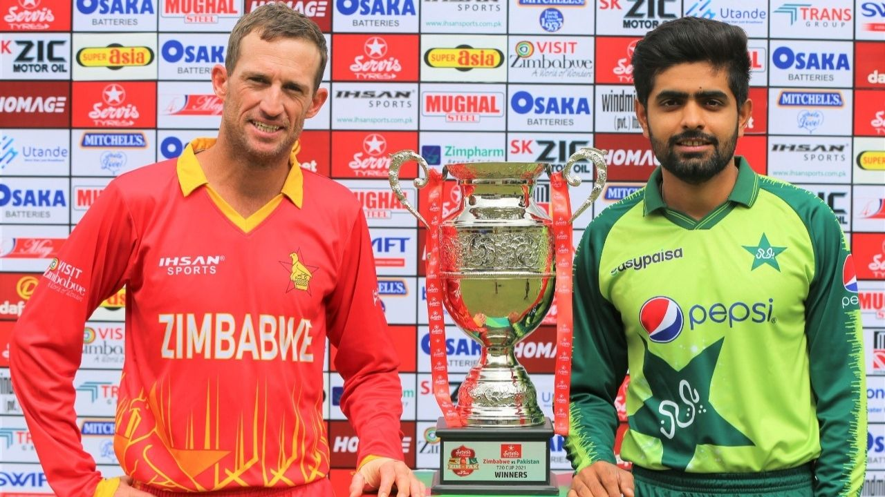 Zimbabwe vs Pakistan 1st T20I Live Telecast Channel in India and Pakistan: When and where to watch ZIM vs PAK Harare T20I?