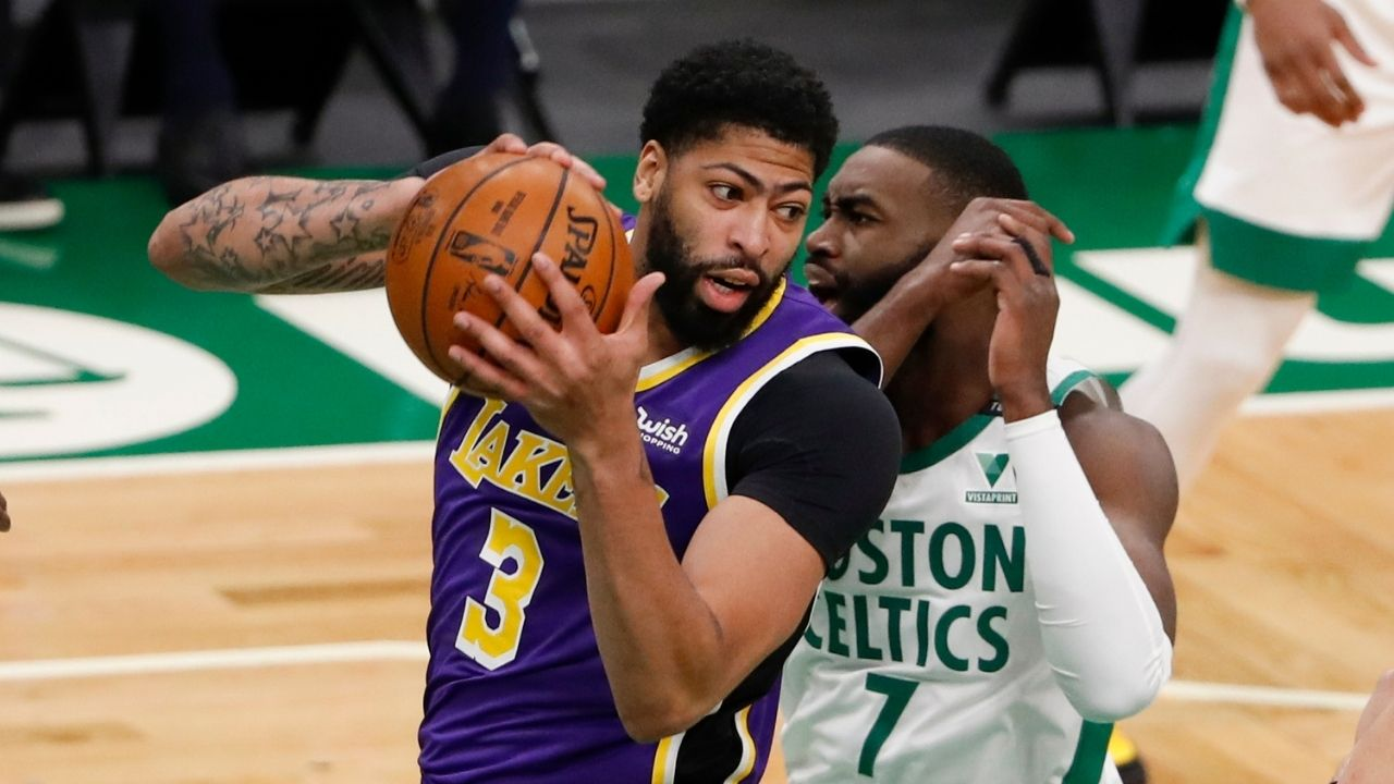 """""""Anthony Davis would be a cheat code for any team"""": Kevin Durant sings Lakers star's praise as he engages in a debate on Twitter with Nick Wright about Davis and Tim Duncan"""