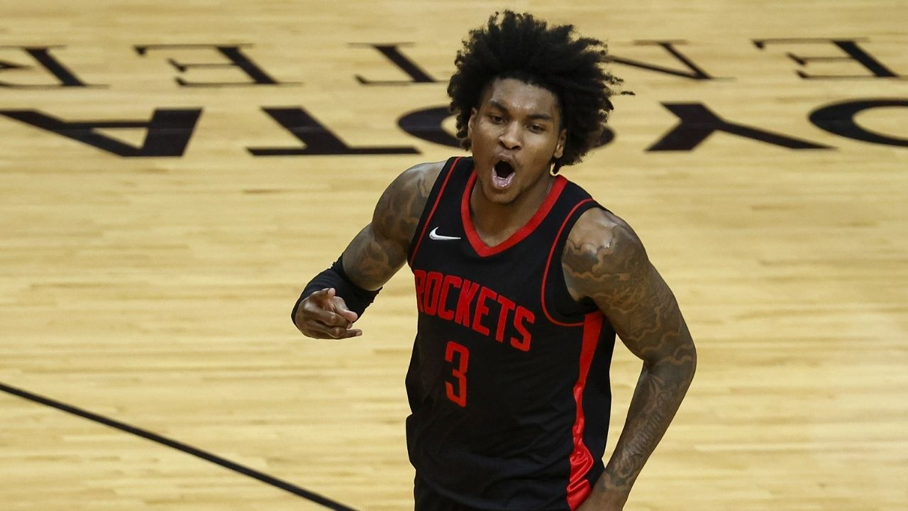 """""""Kevin Porter Jr is Rockets' James Harden replacement"""": 20-year-old breaks LeBron James record for youngest player to record 50 points and 10 assists in a game"""