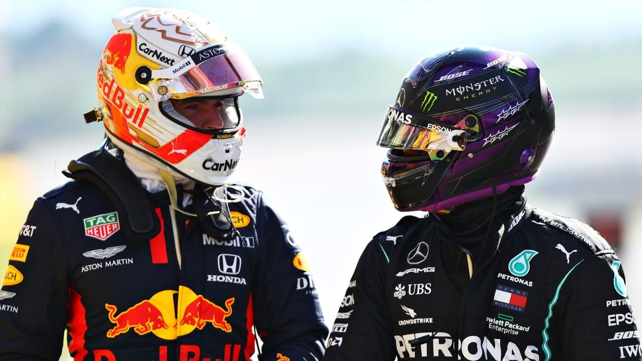 """""""It's just choosing your moments when to shine""""– Max Verstappen on fight against Lewis Hamilton"""