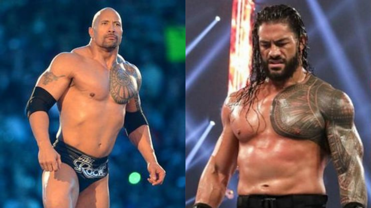 Roman Reigns on if he will ever face the Rock in WWE