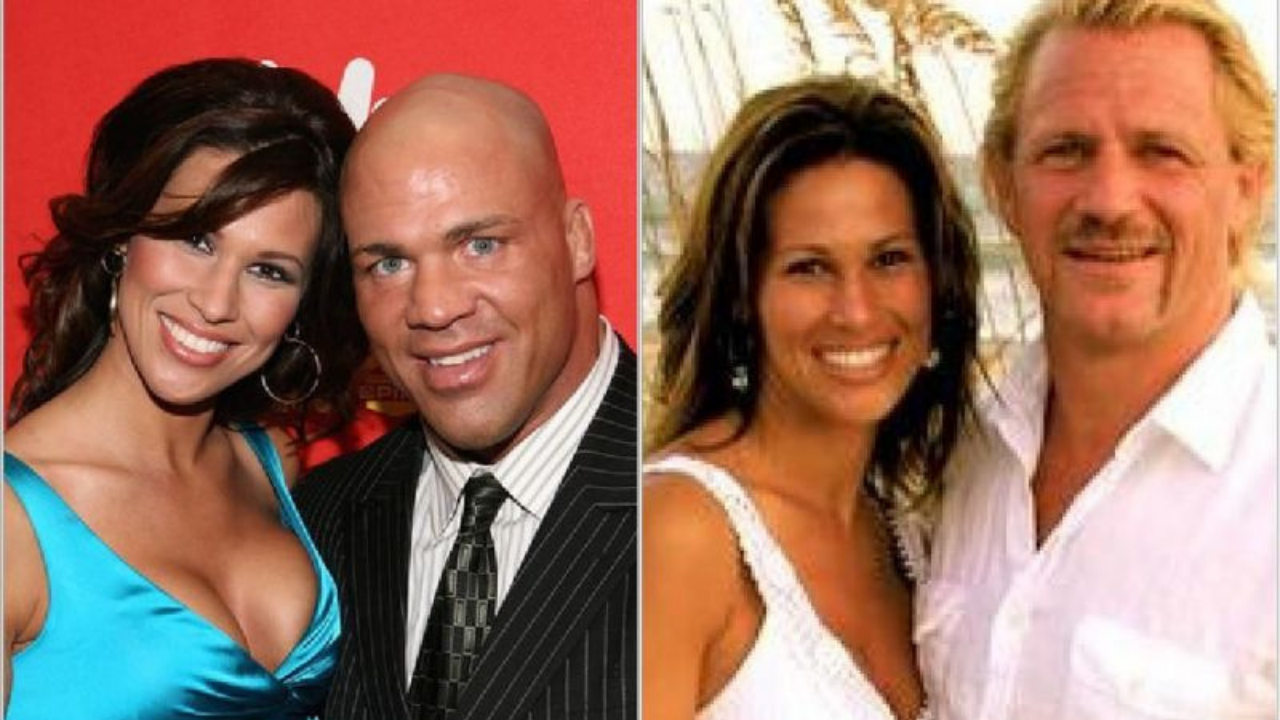 Jeff Jarrett opens up on relationship with Kurt Angle after marrying his ex