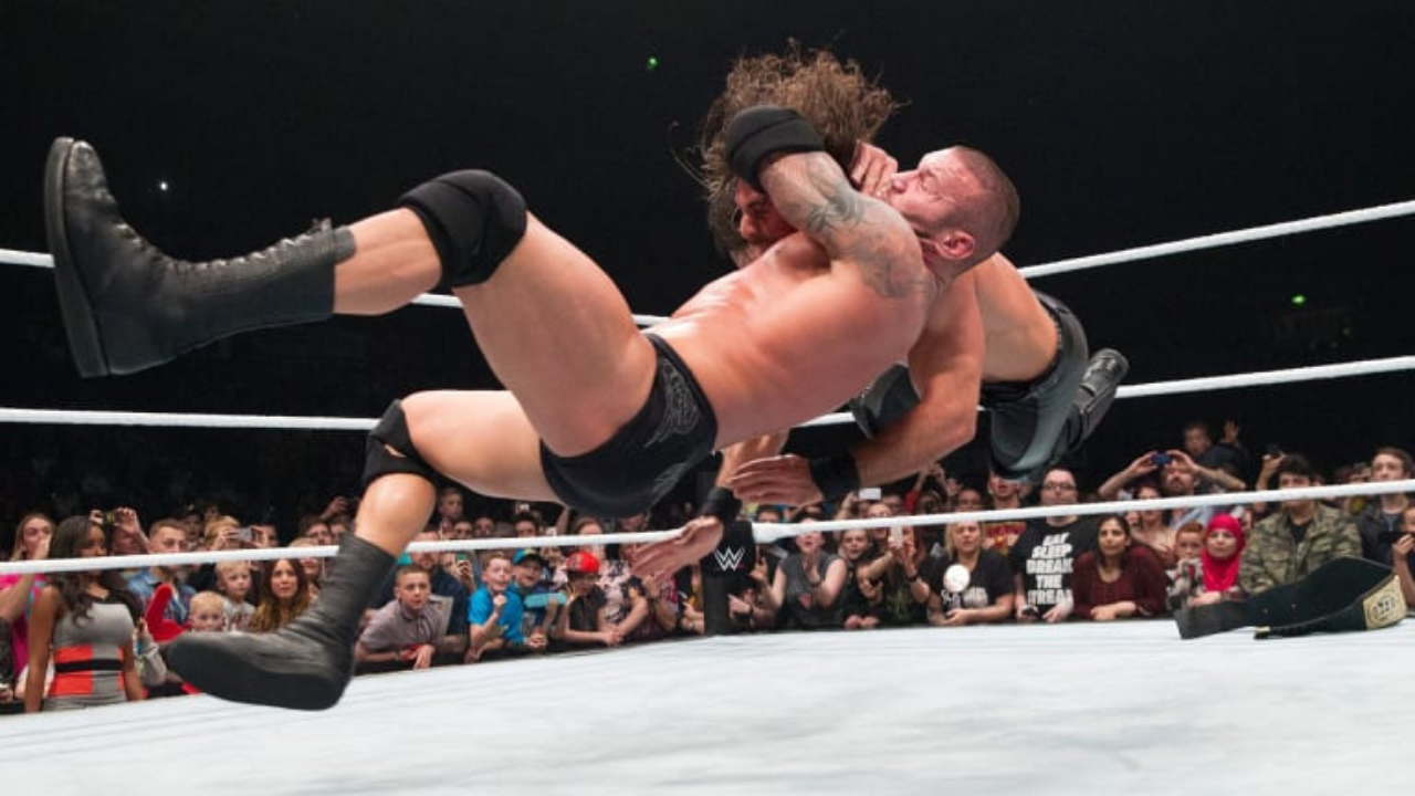 Randy Orton reveals where he got the RKO from
